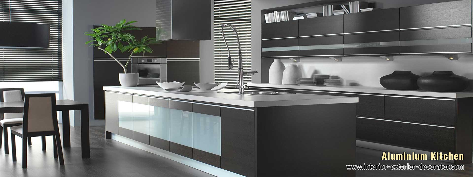 modular kitchen aluminium kitchen design manufacturers in ludhiana punjab india