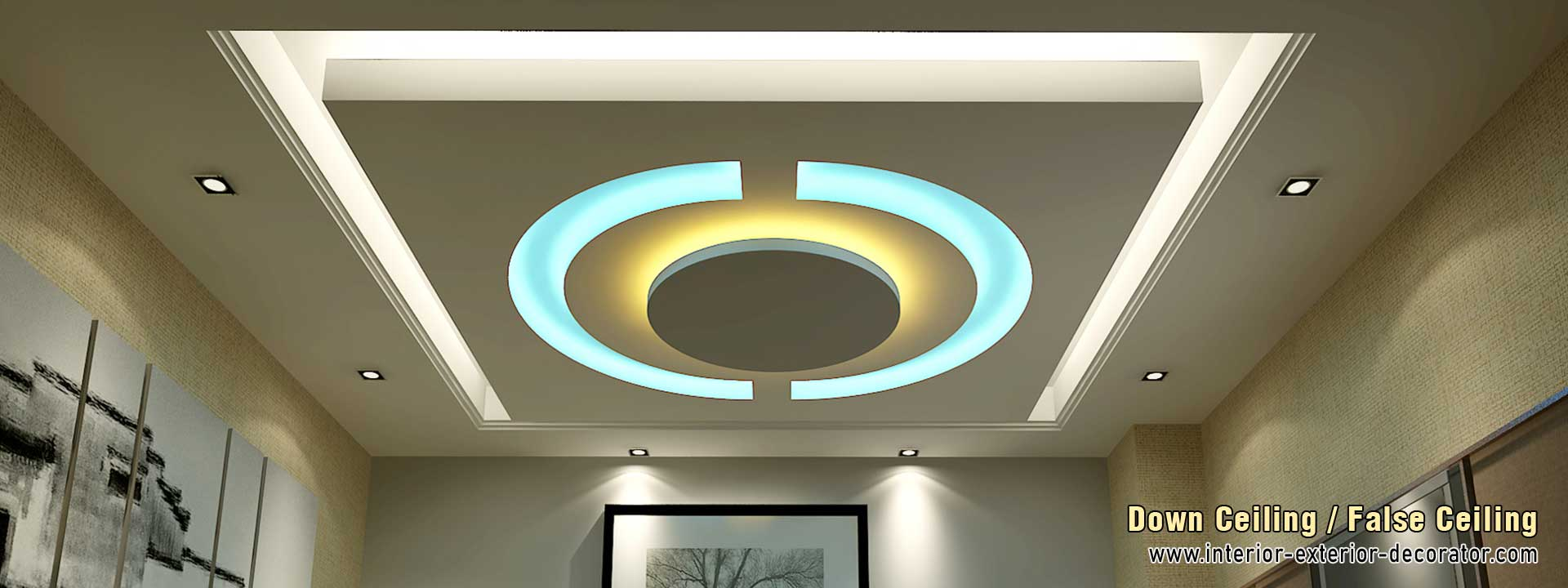 down ceiling false ceiling wooden ceiling decoration interiors manufacturers in ludhiana punjab india