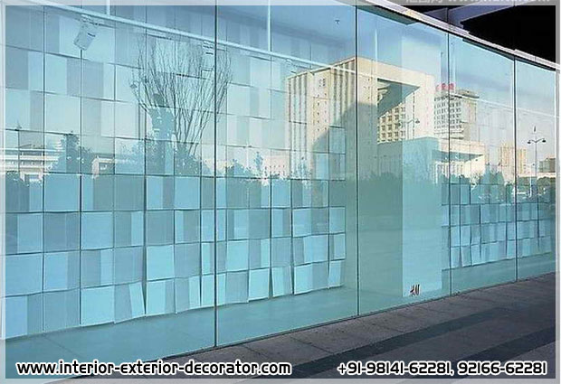 Glass work Decoration office glass door glass windows glass work in ludhiana punjab india