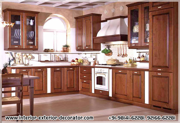 Wooden Kitchen manufacturers in ludhiana punjab india